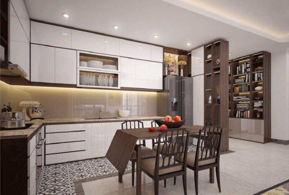 Thiết kế nội thất căn hộ đẹp tại tphcm