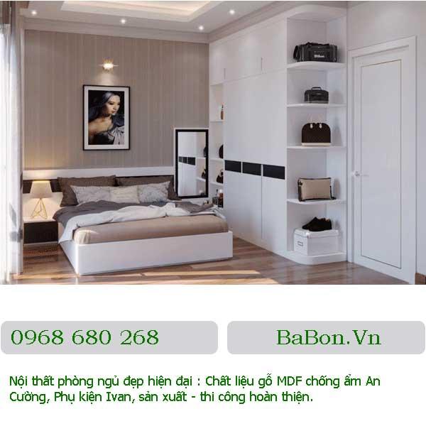 Mẫu nội thất phòng ngủ 001