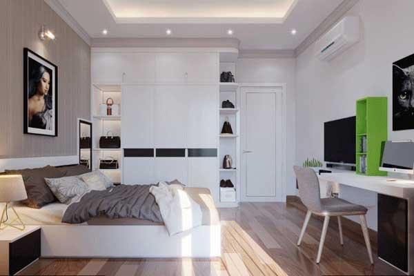Mẫu nội thất phòng ngủ 001 a