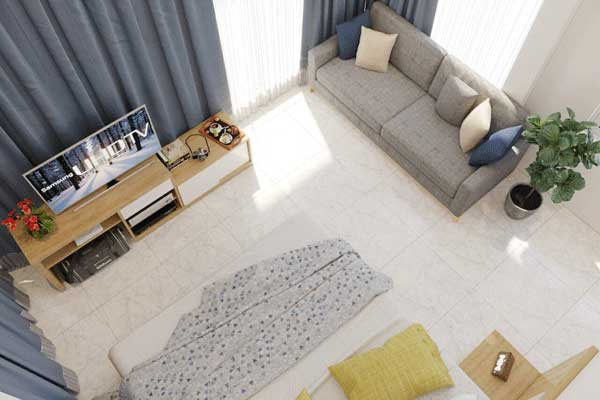 Mẫu phòng khách 002 b