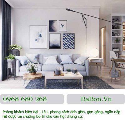 Phòng khách hiện đại 01