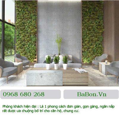 Phòng khách hiện đại 013