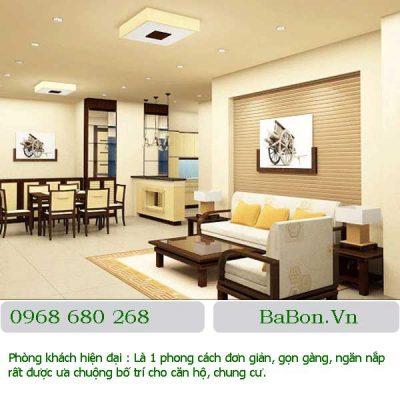 Phòng khách hiện đại 018