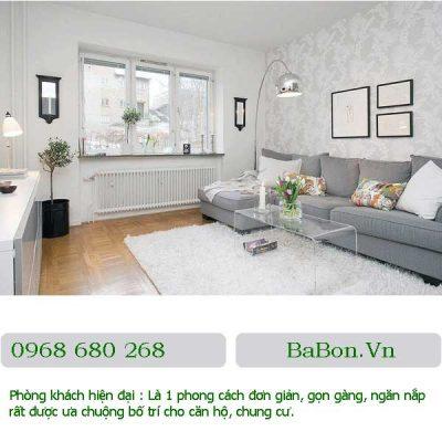 Phòng khách hiện đại 020