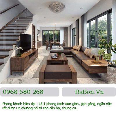 Phòng khách thiết kế đơn giản