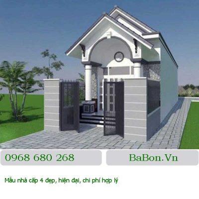 Thiết kế nhà cấp 4 - 004