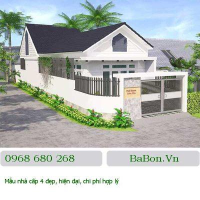 Thiết kế nhà cấp 4 - 008