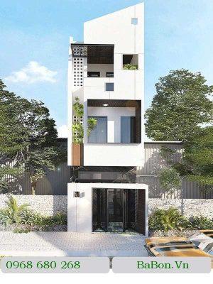 Thiết kế nhà phố 002