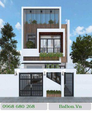 Thiết kế nhà phố 004