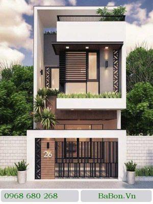 Thiết kế nhà phố 005