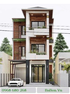 Thiết kế nhà phố 006