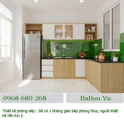 Thiết kế phòng bếp 02
