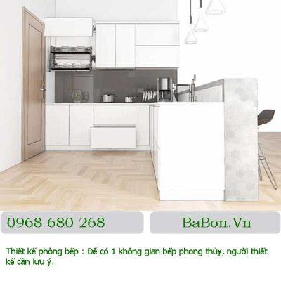 Thiết kế phòng bếp 04