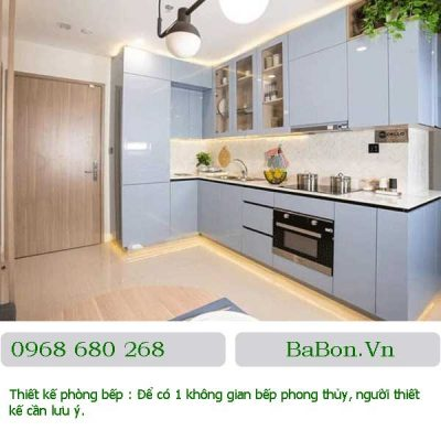 Thiết kế phòng bếp 08