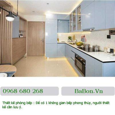 Thiết kế phòng bếp 09