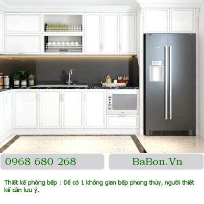 Thiết kế phòng bếp 10