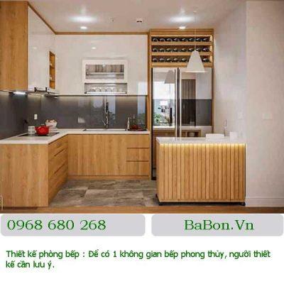 Thiết kế phòng bếp 11