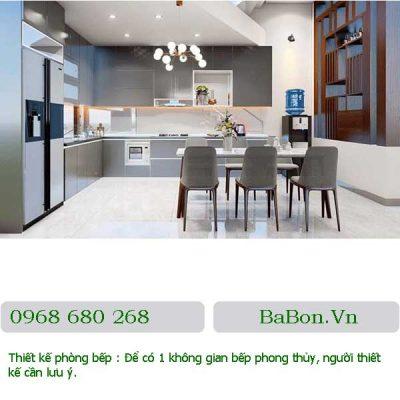 Thiết kế phòng bếp 14