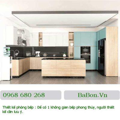 Thiết kế phòng bếp 15
