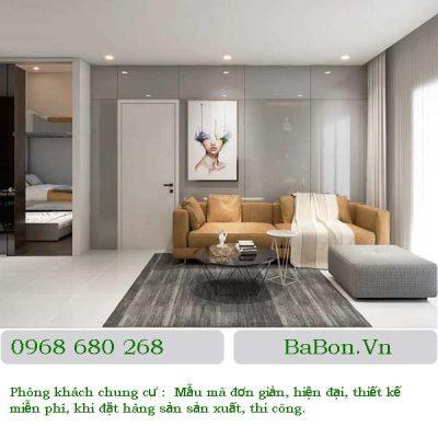 Thiết kế phòng khách 02