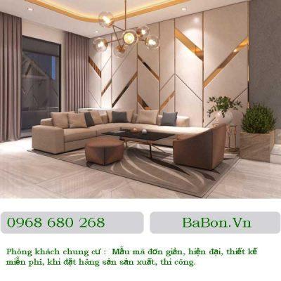 Thiết kế phòng khách 03