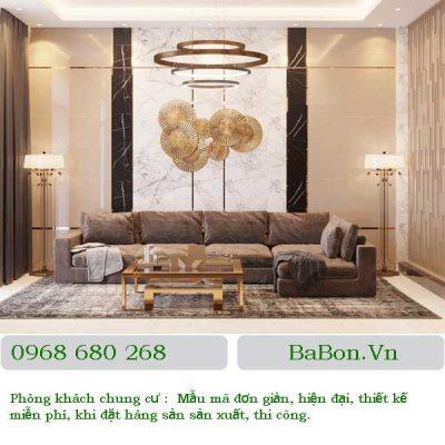 Thiết kế phòng khách 04