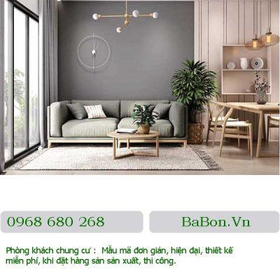 Thiết kế phòng khách 06