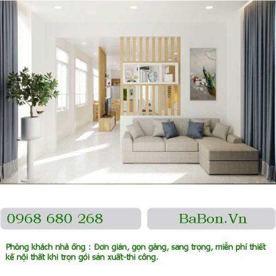Thiết kế phòng khách 08