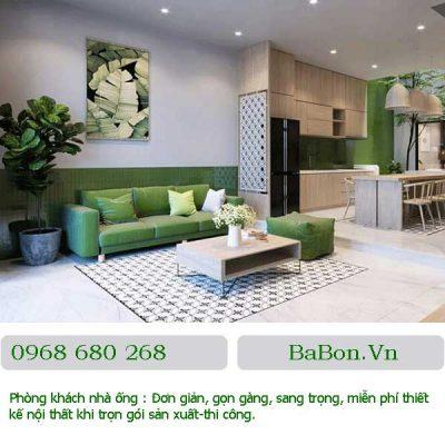Thiết kế phòng khách 09