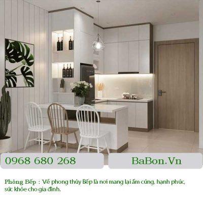 Thiết kế nội thất phòng bếp 02