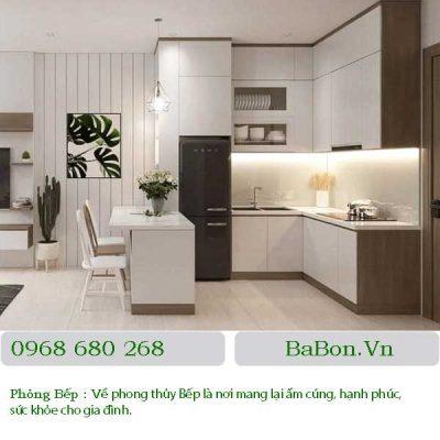 Thiết kế nội thất phòng bếp 03