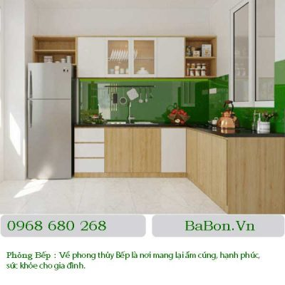 Thiết kế nội thất phòng bếp 05