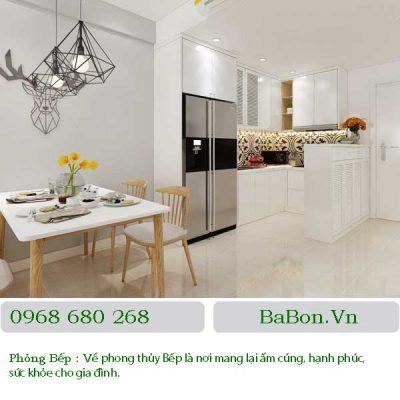 Thiết kế nội thất phòng bếp 06