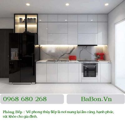 Thiết kế nội thất phòng bếp 07