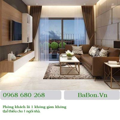 Thiết kế nội thất phòng khách 02