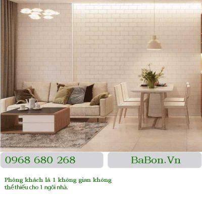 Thiết kế nội thất phòng khách 04