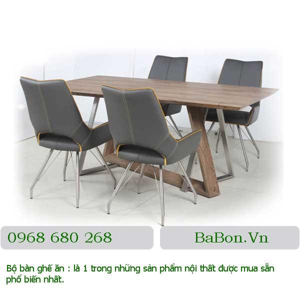 Mẫu bàn ghế ăn 001 a