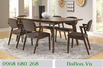 Mẫu bàn ghế ăn 003