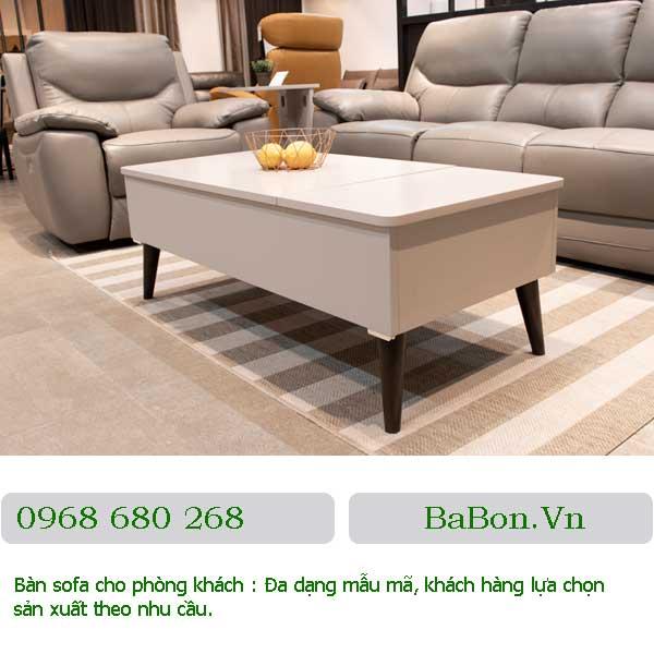 Mẫu bàn sofa 001