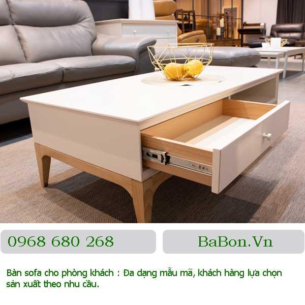 Mẫu bàn sofa 002