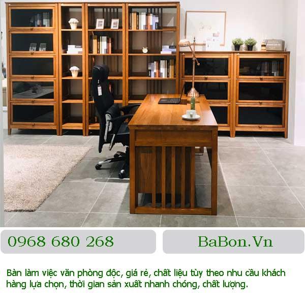 Mẫu bàn văn phòng 001