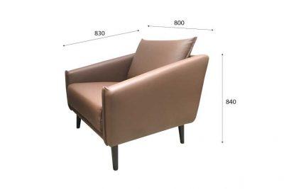 Mẫu ghế sofa 001 e kích thước