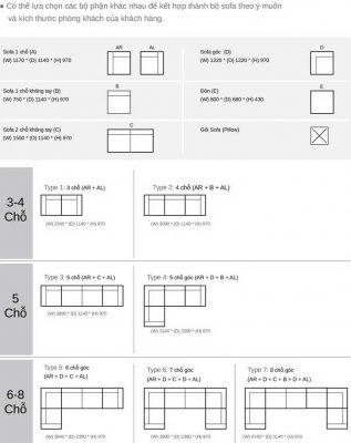 Mẫu ghế sofa 002 d