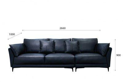Mẫu ghế sofa 004 b kích thước