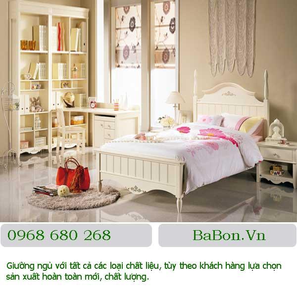 Mẫu giường ngủ 006