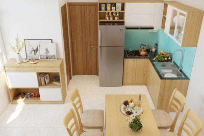 Mẫu nội thất phòng bếp 001 a