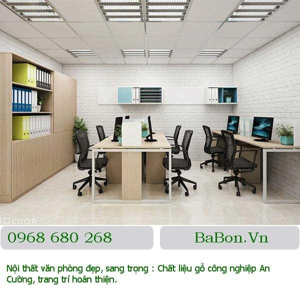 Mẫu nội thất văn phòng 001