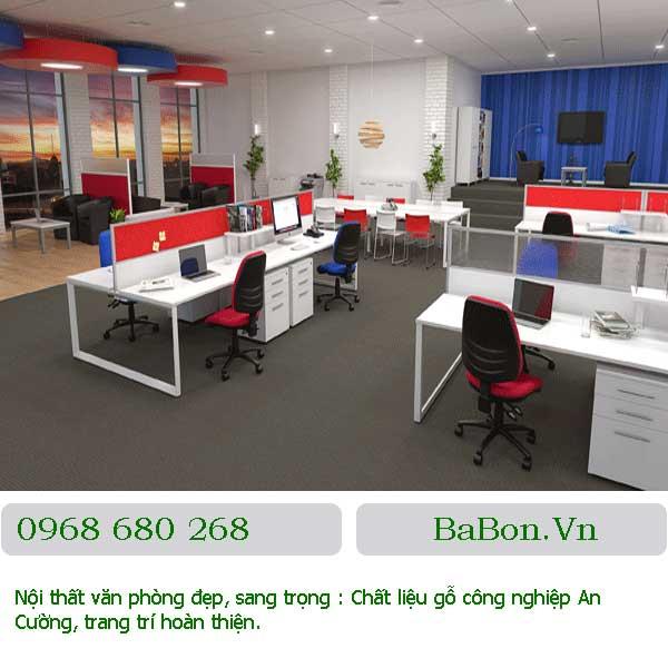 Mẫu nội thất văn phòng 002