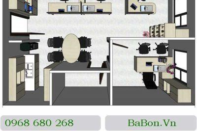Mẫu nội thất văn phòng 004