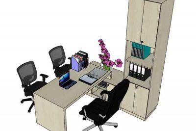 Mẫu nội thất văn phòng 004a